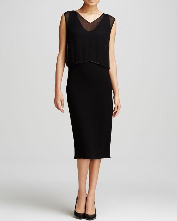 Lyst - Elie Tahari Danni Dress In Black