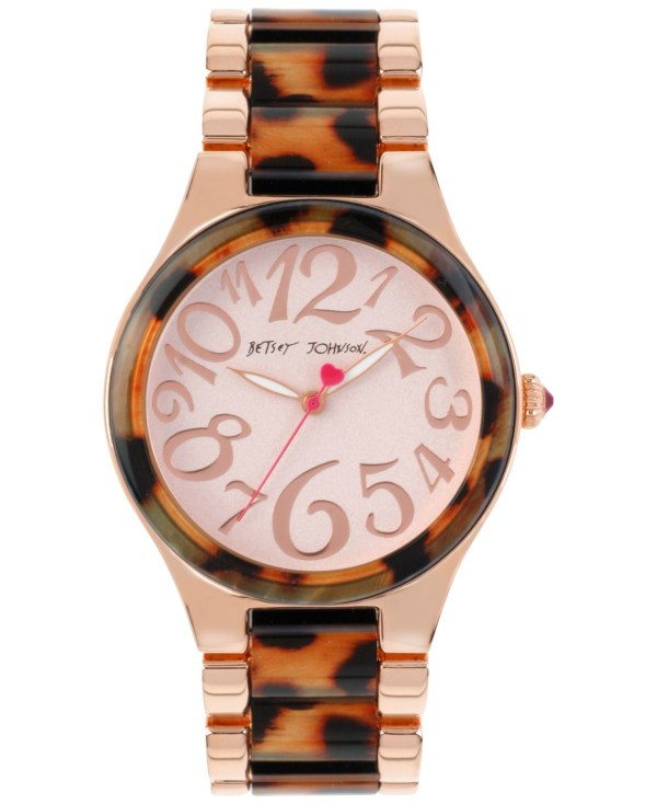 Lyst - Betsey Johnson Women' Rose Gold-tone Stainless
