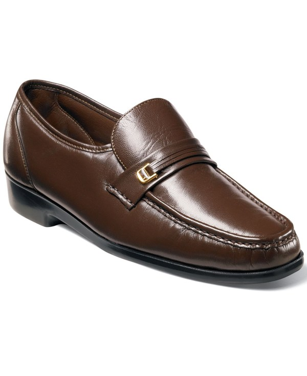 Florsheim Riva Moc Toe Loafers In Brown Men Lyst