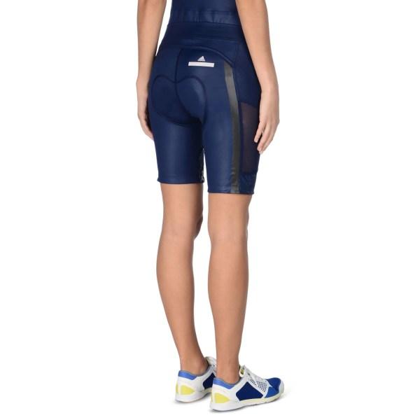 Lyst - Adidas Stella Mccartney Dark Blue Cycling Shorts