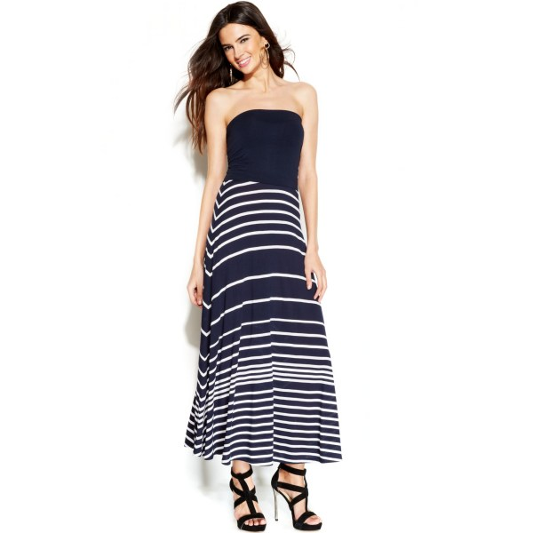 Lyst - International Concepts Striped Convertible Maxi
