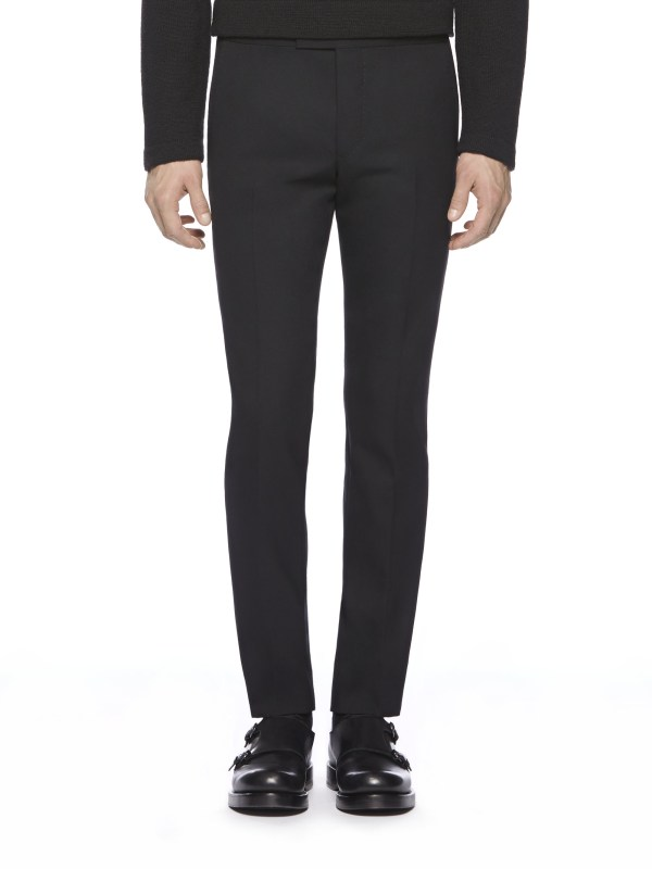 Lyst - Gucci Sharp Evening Pant In Black Men