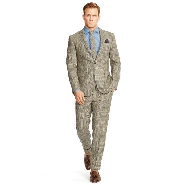 Polo Ralph Lauren Men Plaid Suit