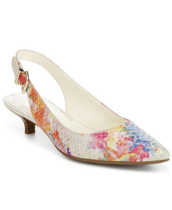 Anne Klein Kitten Heels Pumps Shoes