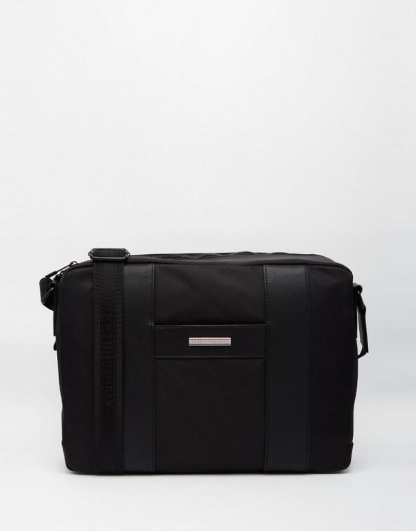 Lyst - Tommy Hilfiger Story Messenger Bag In Black Men