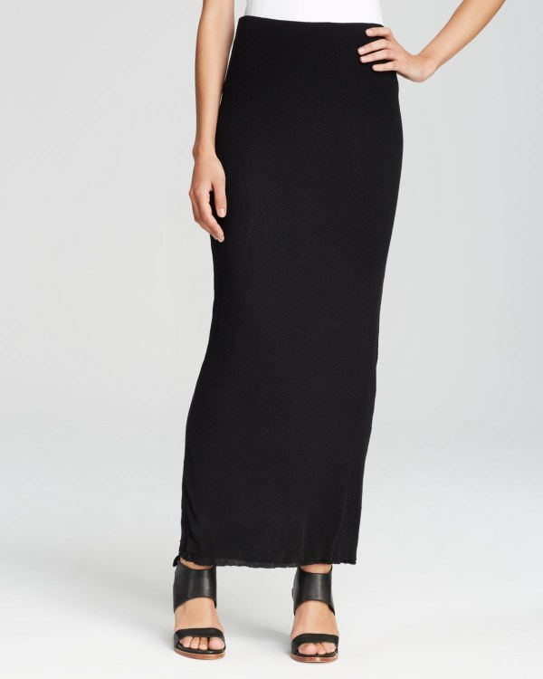 Black Pencil Maxi Skirt Fashion Skirts