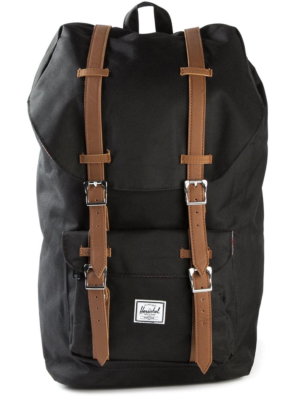 Lyst - Herschel Supply Co. 'Little America' Backpack in Black for Men