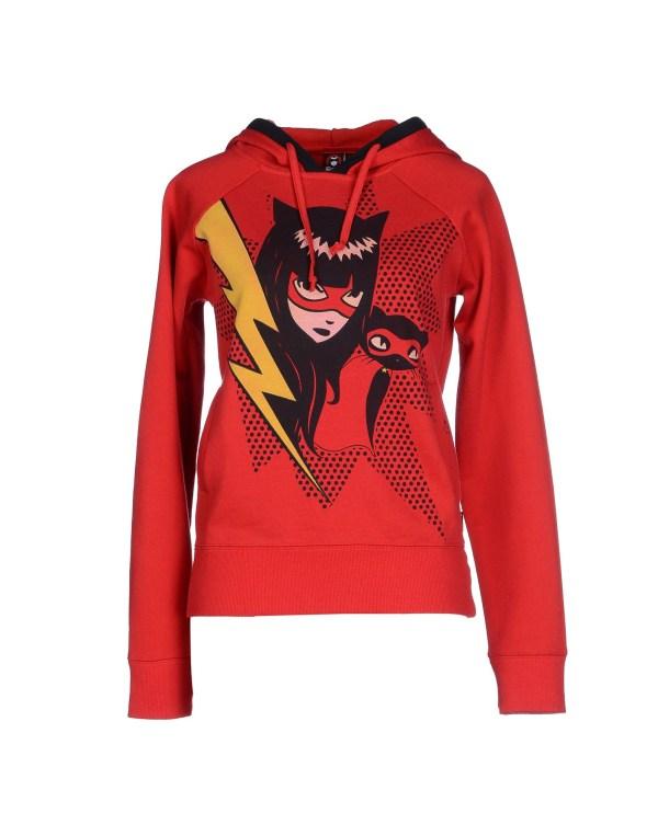 Lyst - Emily Strange Sweatshirt In Red