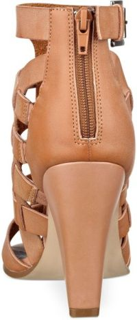 G By Guess Womens Neena Dress Sandals in Brown (Sandy)   Lyst