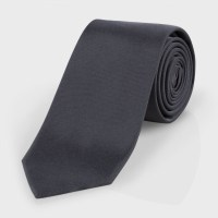 Paul smith Men's Dark Grey Narrow Silk Tie in Gray for Men ...