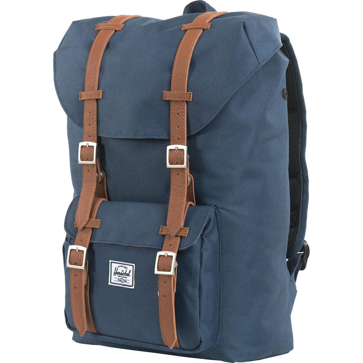 Lyst - Herschel Supply Co. Little America Backpack Navy in Blue for Men - Save 18.85245901639344%