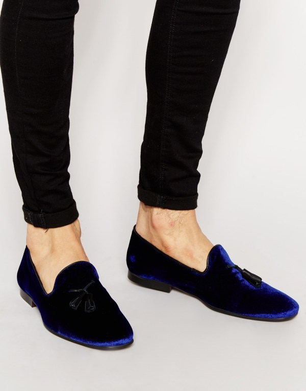 33ed09859abd4 20+ Blue Velvet Men Loafers Pictures and Ideas on Meta Networks