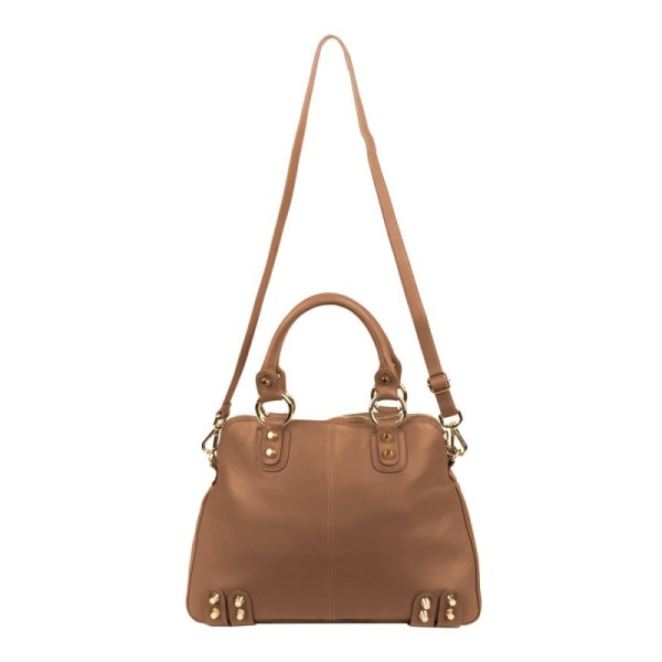 Linea Pelle Lady Dylan Large Bag In Brown Lyst