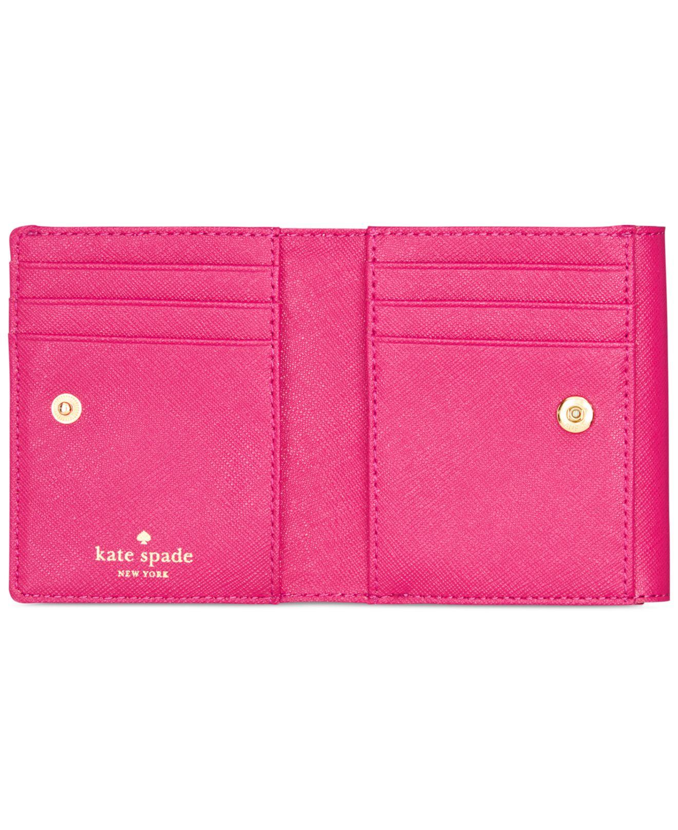 Lyst - Kate Spade New York Cedar Street Tavy Wallet in Pink