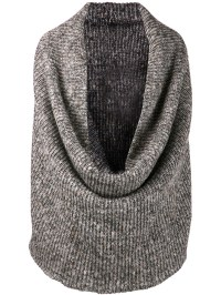 Lyst - Dominic Louis Knit Circle Scarf in Gray