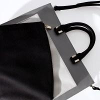 Zara Combined Office Citybag in Gray   Lyst
