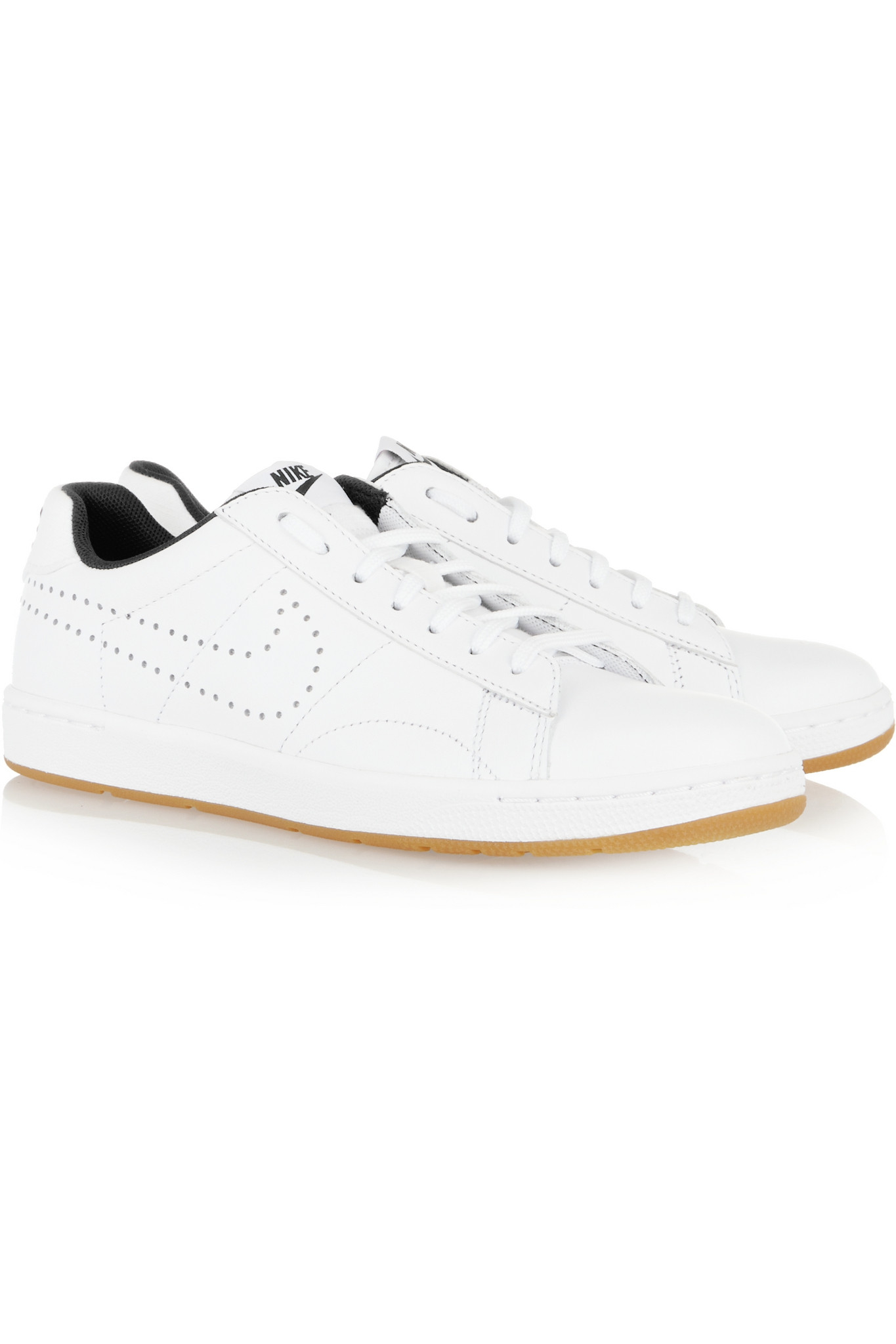 Nike Tennis Classic Ultra Perforated Leather Sneakers In