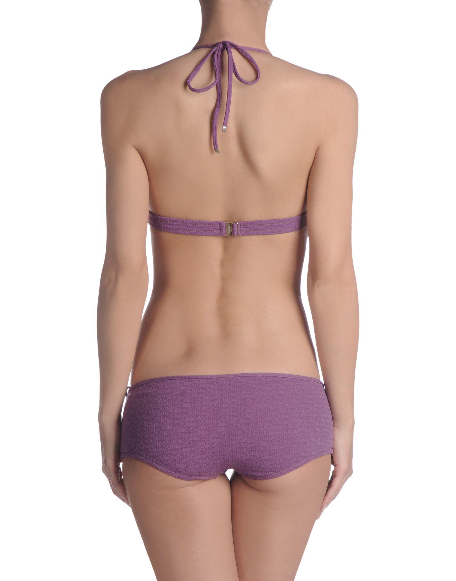 Chlo Bikini In Purple Lyst