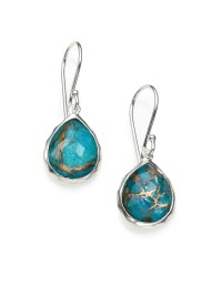 Ippolita Bronze Turquoise, Clear Quartz & Sterling Silver
