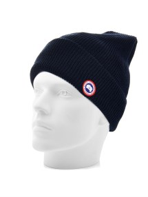 4b74636c8c9 Canada Goose Boreal Slouchy Beanie In Blue Men Lyst - Year of Clean ...