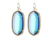 Kendra scott Danielle Earrings Mystic Iridescent in Blue ...