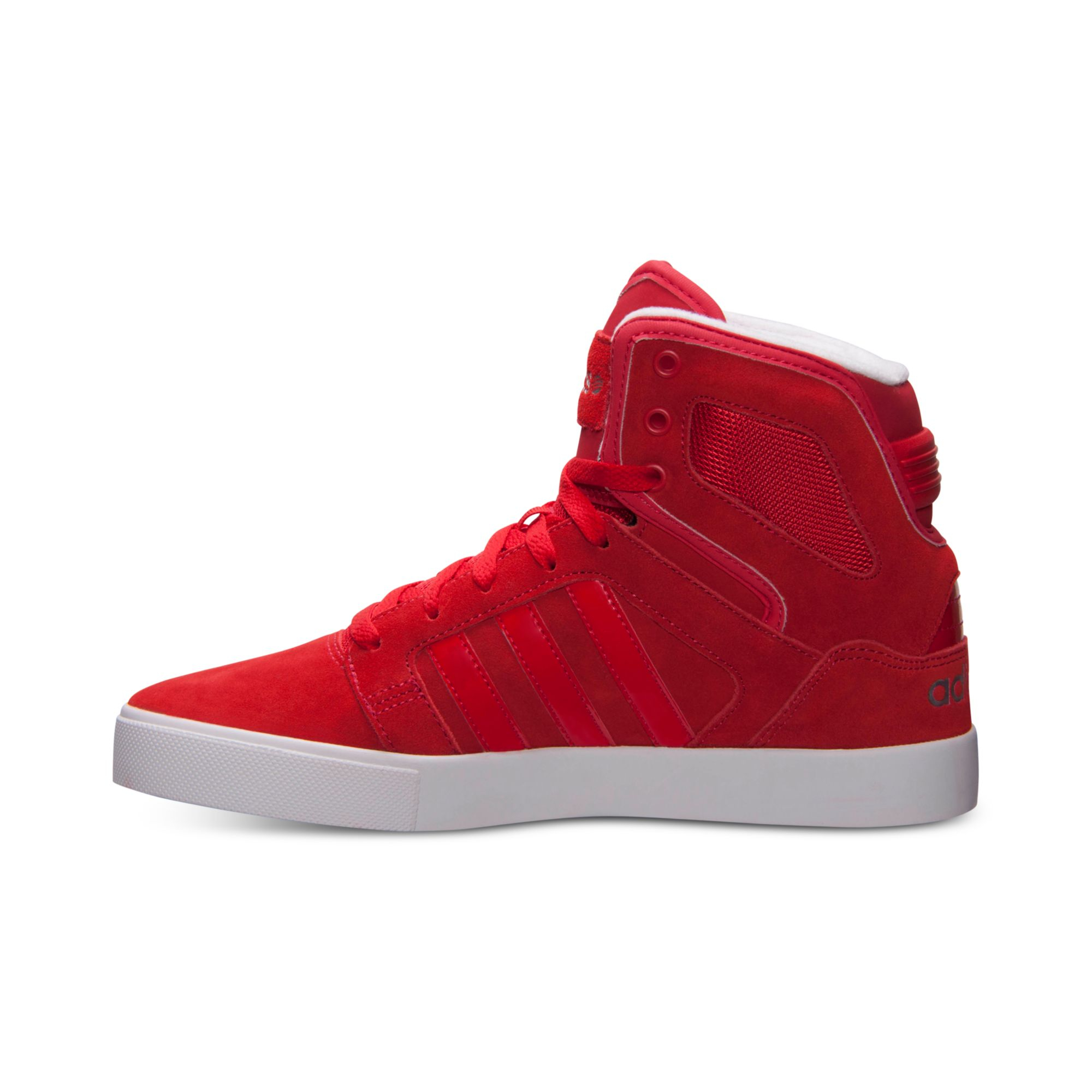 Lyst  Adidas Mens Bbneo Hitop Casual Sneakers From