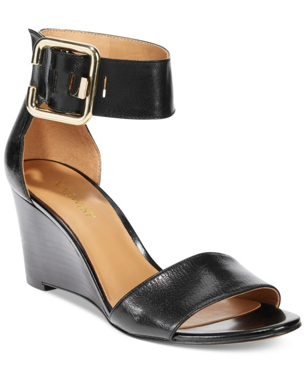 b037335df1 20+ Nine West Black Wedge Sandals Pictures and Ideas on STEM ...