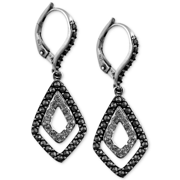 Judith Jack Sterling Silver Marcasite 114 Ct Tw And