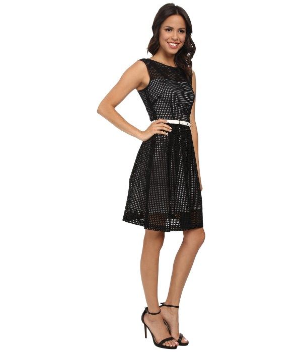Lyst - Tahari Alessia Dress In Black