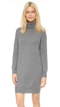 Lyst - Demylee Bianca Cashmere Dress - Medium Heather Grey ...