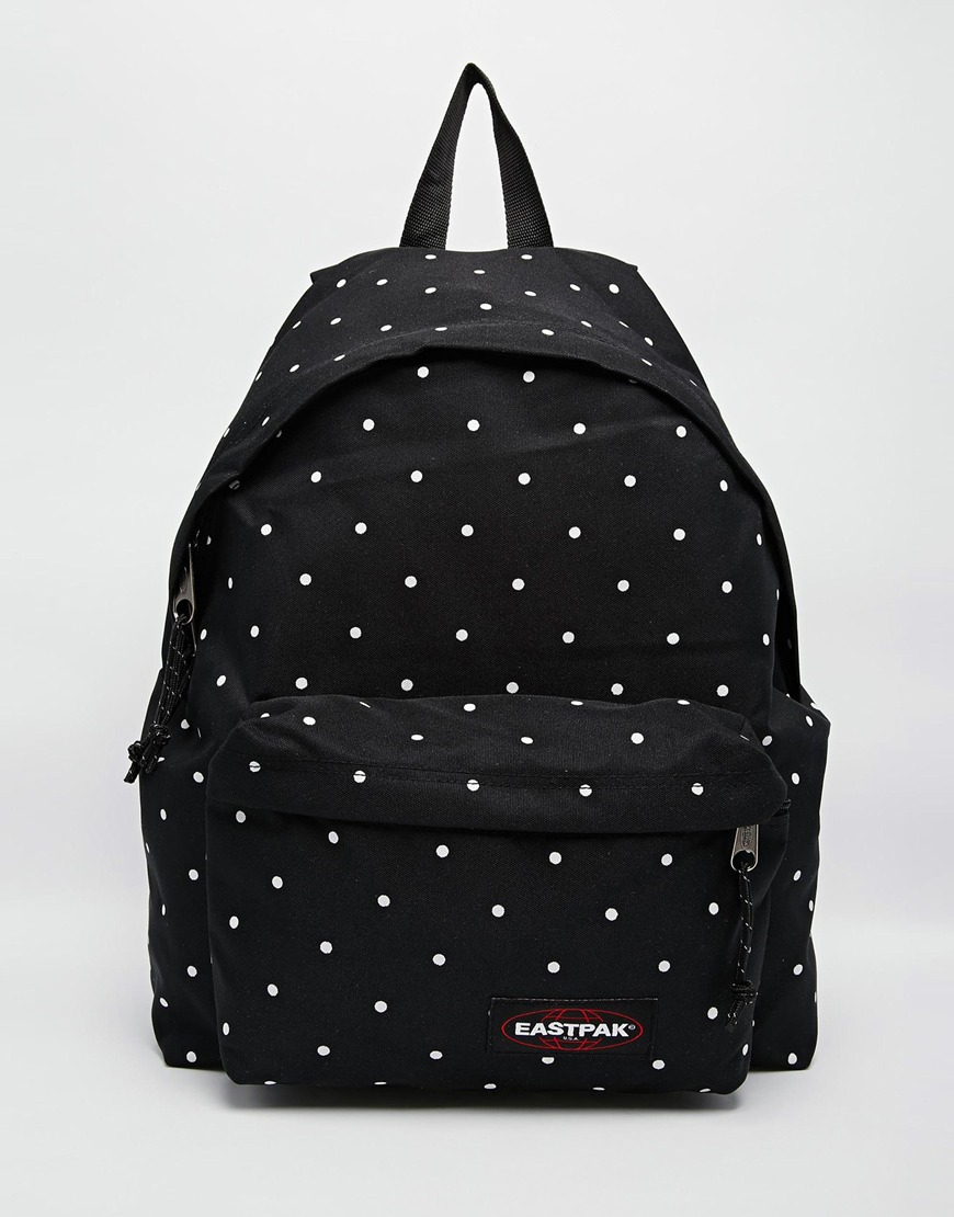Eastpak Polkadot Padded Pakr Backpack In Black For Men Lyst