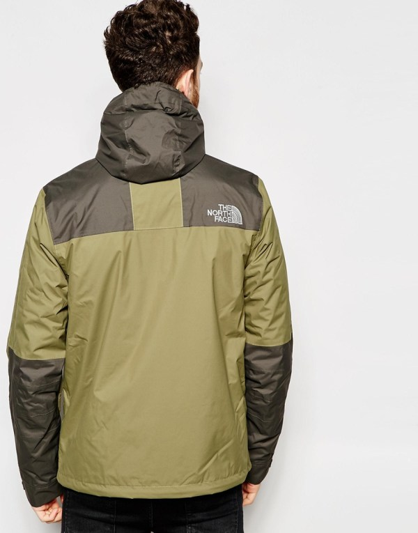 Lyst - North Face Mountain Jacket In Green Men