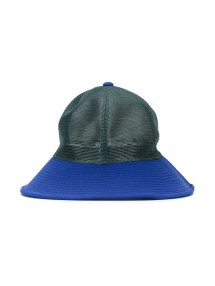 Facetasm Panelled Hat In Blue Lyst