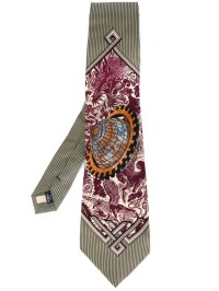 Jean paul gaultier Chinese Dragon Tie in Multicolor for ...