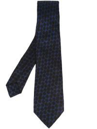 Kiton Geometric Pattern Tie in Blue for Men | Lyst