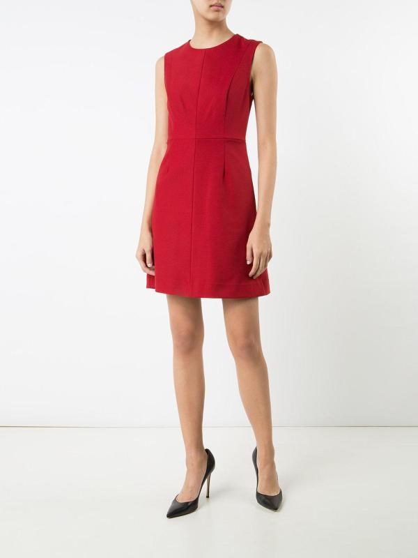 Lyst - Diane Von Furstenberg Sleeveless Dress In Red