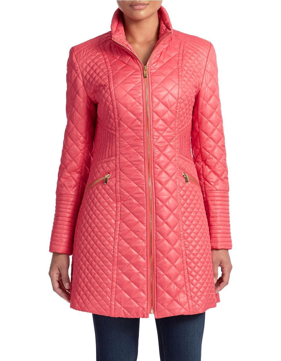 Spiga Pink Pea Coat
