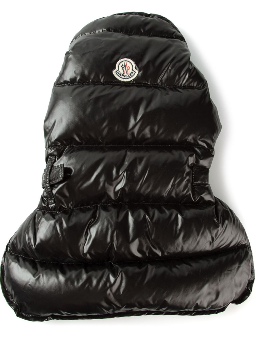 Moncler Padded Dog Coat in Black
