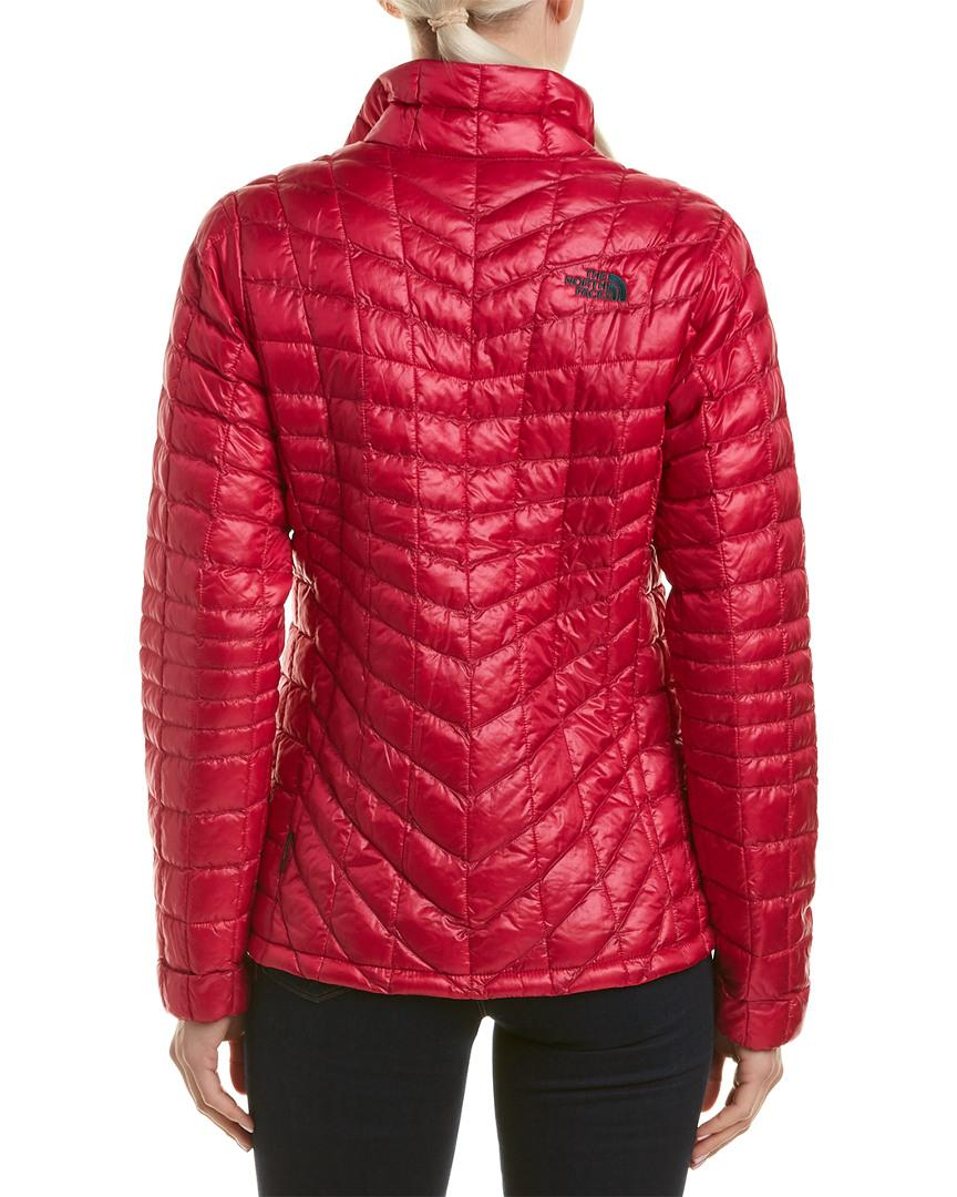 Lyst - The North Face Thermoball Full Zip Jacket in Pink