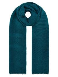 Lyst - Accessorize Lily Ribbed Scarf in Blue