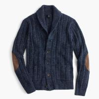 J.crew Cotton Mariner Shawl-collar Cardigan Sweater in ...