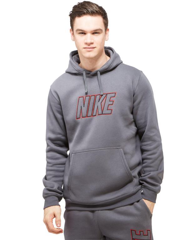 Nike Club Hoody In Gray Men Lyst