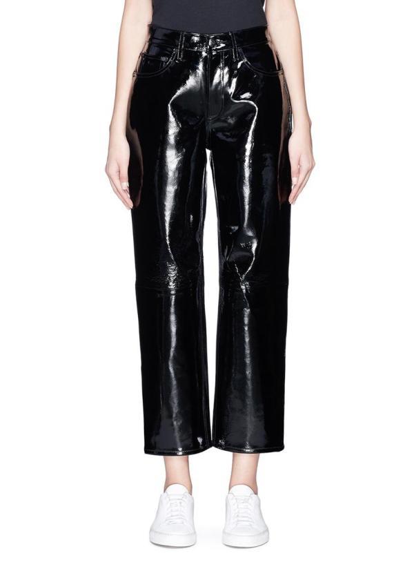 Lyst - Rag & Bone Patent Leather Pants In Black