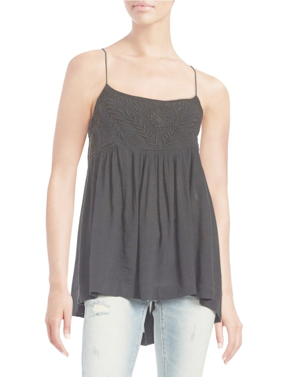 Free People Blackbird Top In Black - Lyst
