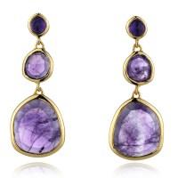 Monica vinader Siren Earrings in Metallic | Lyst