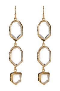 Melinda maria Saldana Earrings in Metallic (GOLD)