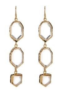 Melinda maria Saldana Earrings in Metallic (GOLD) - Save ...