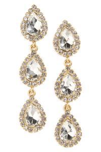 Lyst - Loren Hope Natalie Drop Earrings in Metallic