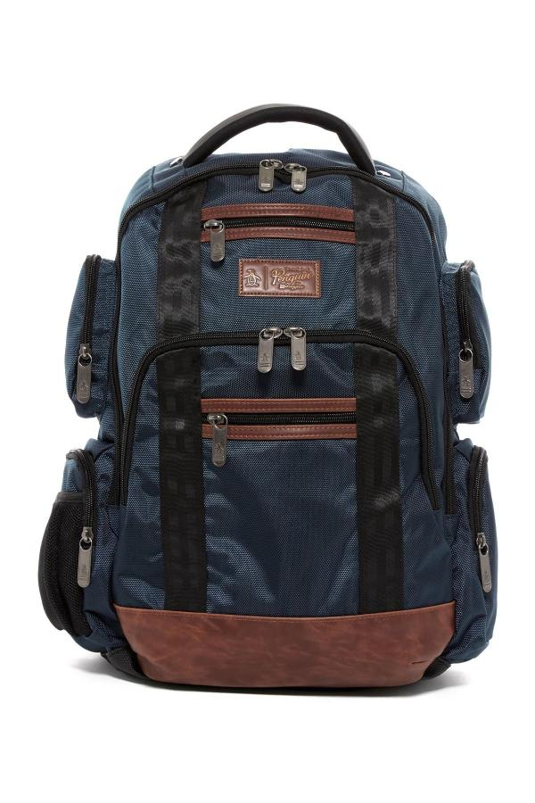 Original Penguin Peterson Backpack In Blue Men Lyst
