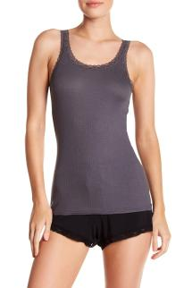 Lyst - Barefoot Dreams Luxe Ribbed Jersey Tank In Purple